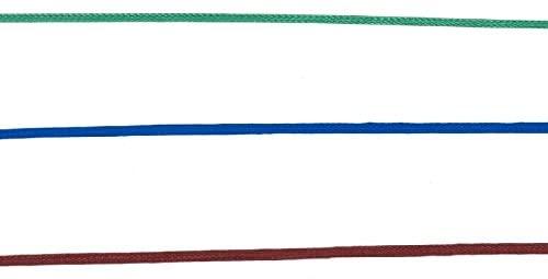 3er Pack blau, grün, bordeaux