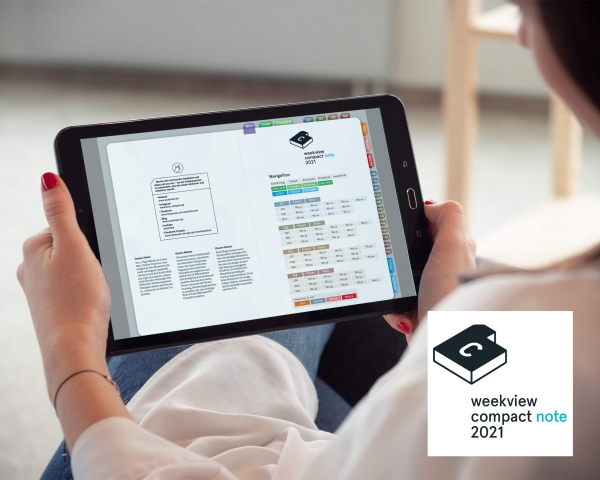Digital Planner | compact note 2021 | mit Navigation