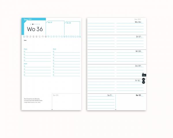 Druckversion (PDF) | compact note Einlagen (A5 optimiert) | zum selberdrucken 2021