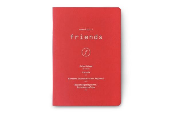 weekdori friends A5 aus Gmund Papier gefertigt (geeignet für Traveler's notebooks und Dori-Systeme)