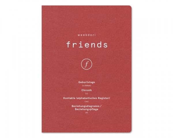 weekdori friends A5