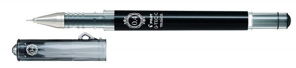 Pilot G-Tec-C Maica Tintenroller Schwarz – Ultra-feiner Techpoint-Gelstift – 0,4 mm