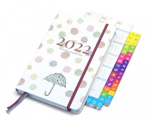 compact note 2022 | lucky umbrella edition