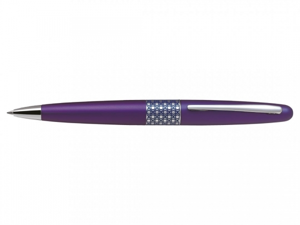 Pilot MR Retro Collection Metallic Violet Ballpoint Pen