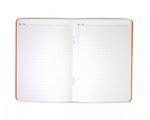 weekdori notes 2.0 A6 aus Gmund Papier gefertigt (geeignet für Traveler's notebooks und Dori-Systeme