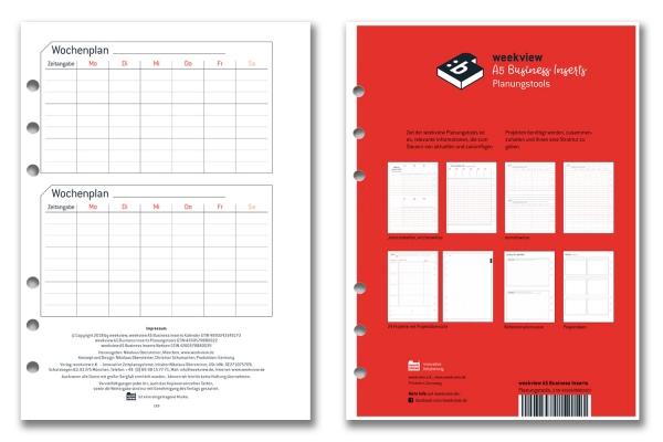 Planungstools für die Business-Einlagen A5