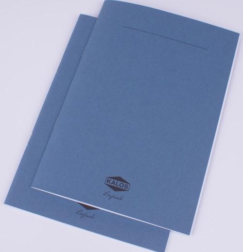3 x Kalos | Logbuch A6, 32 Seiten, Gmund Papier fein gepunktet