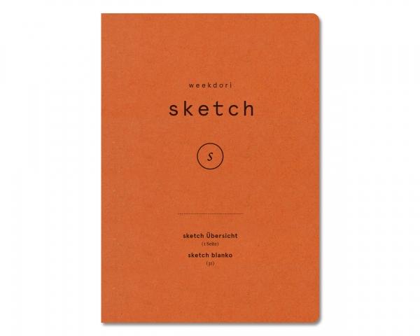 weekdori notes A5 sketch