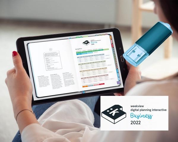 32 GB USB Stick + Digital Planner | Business 2022 | mit Navigation