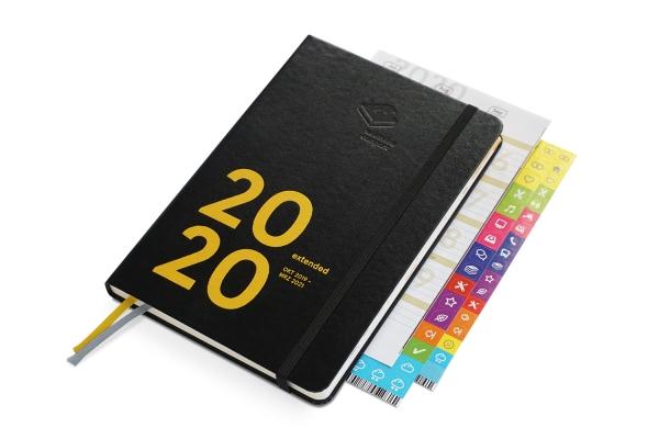 compact extended 2020 - der clevere Wochenplaner! von Okt 2019 bis März 2021