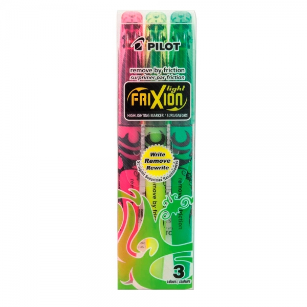 PILOT Frixion Light Textmarker - 3er Set