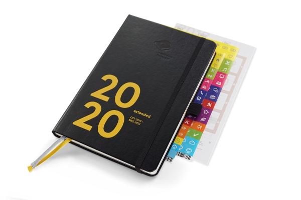 B-Ware | compact extended 2020 Plus | mit Froschtasche und Stiftschlaufe