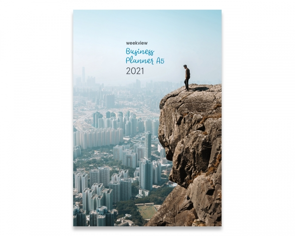 Business Starter A5 2021, inkl. Planungstools und Notizteil, Broschur Version