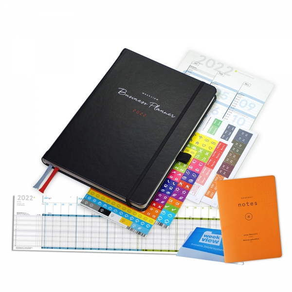 Business Planner 2022 Premium Plus | Inkl. FriXion Ball LX