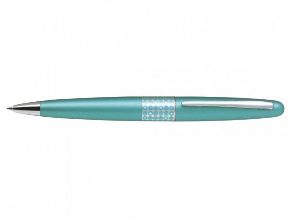 Pilot MR Retro Collection Metallic Light Blue Ballpoint Pen