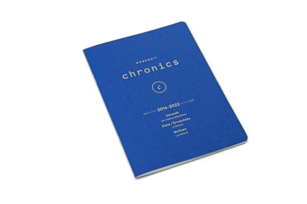 weekdori Chronics A5 aus Gmund Papier gefertigt (geeignet für Traveler's notebooks und Dori-Systeme)