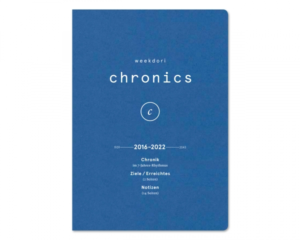 weekdori Chronics A5
