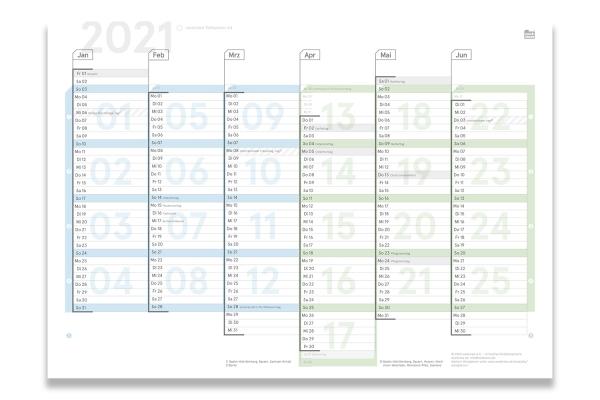 Digital Tafelplaner 2021