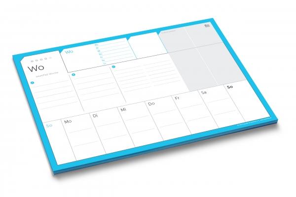weekPad A4 | der praktische Wochenplaner als Abreißblock im A4-Format