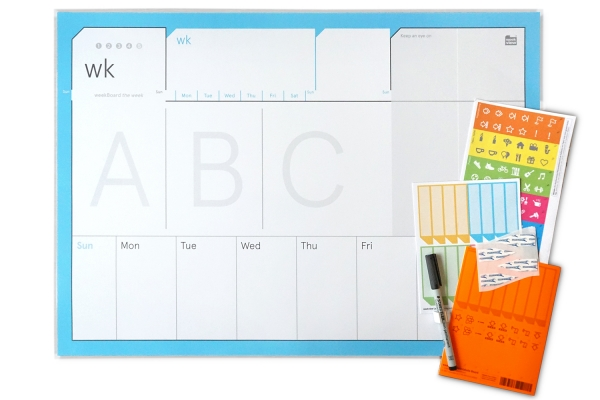 weekBoard | the weekly planner