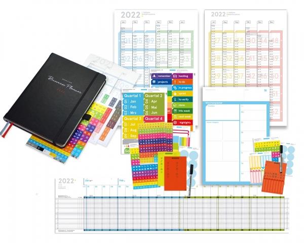 "Business Planner 2022   Bundle 3 ""Wandplaner"""