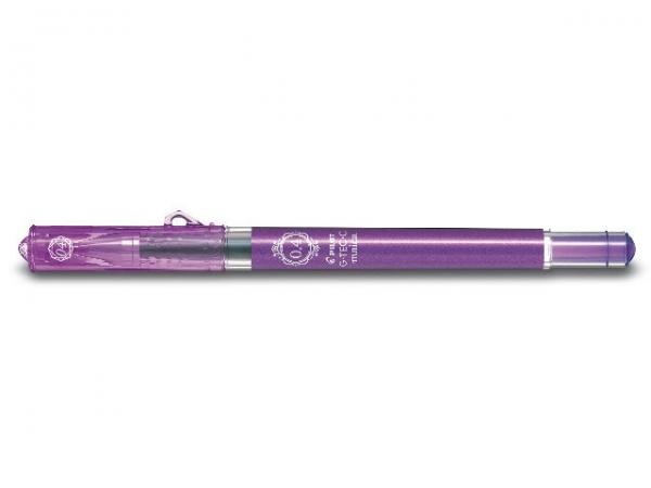 Pilot G-Tec-C Maica Tintenroller Violet – Ultra-feiner Techpoint-Gelstift – 0,4 mm