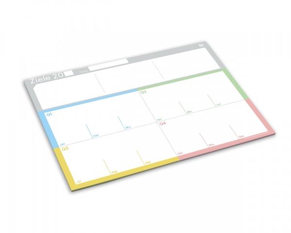weekview | ZielePad A4 Block