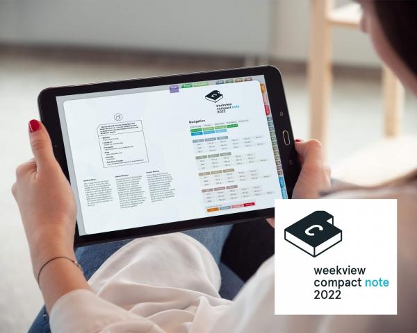 Digital Planner | compact note 2022 | mit Navigation